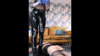 BBC for cheap sissy slut- full clip on my Onlyfans (link in bio)